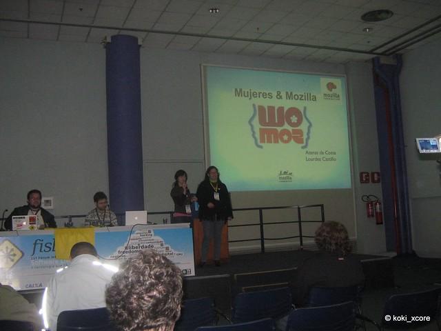 Mujeres & Mozilla FISL 11
