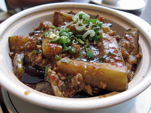 Sea Spicy Aubergine with Pork
