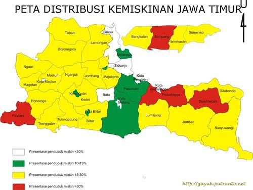 peta distribusi kemiskinan jawa timur http://gayuh.putranto.net
