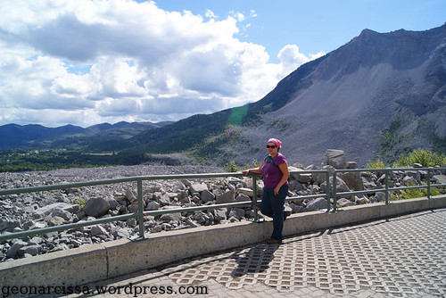 Narcissa at Frank Slide