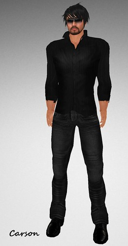 Gentleman Dovadi Dark Shirt and Harlow Jeans