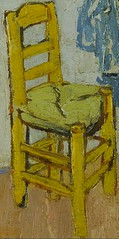 from The bedroom De slaapkamer (1888) Vincent van Gogh