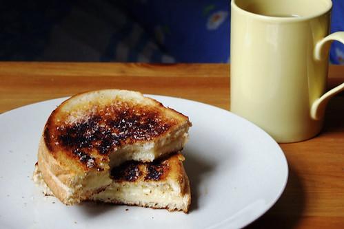 cheese toastie 3/4