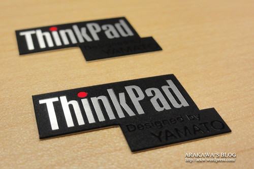 ThinkPad Sticker for X Series designd by yamato