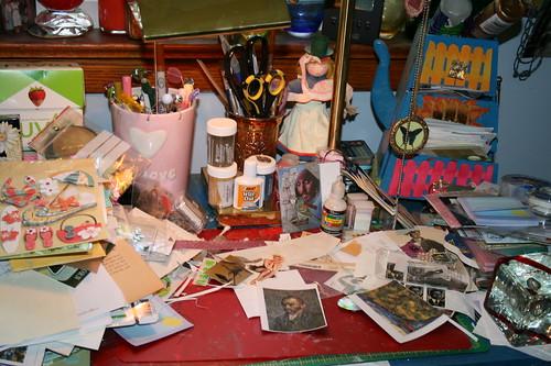 My art table