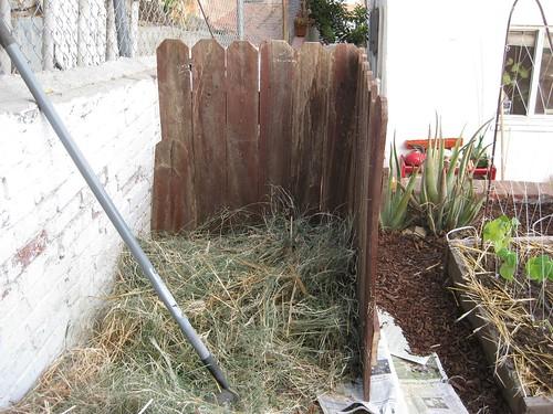 Compost Corner, Side View