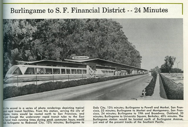 Burlingame BART station (1960)