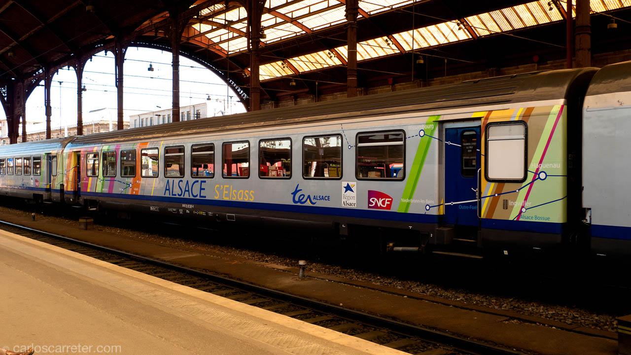 Coche del TER Alsace 200 km/h