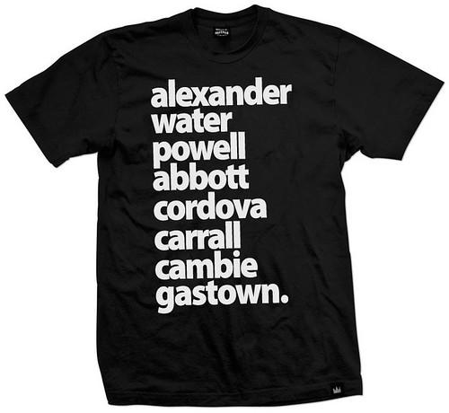 gastown streets B&W