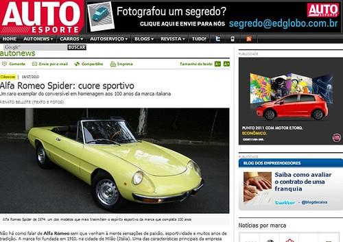 Alfa Romeo Spider (07/10)