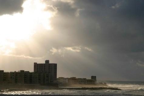 Alexandria seafront, Egypt