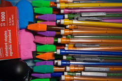 School Supplies Pencils Erasers August 07, 20103