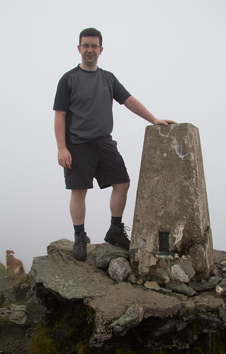Ian and Ben Lawers Trig Point