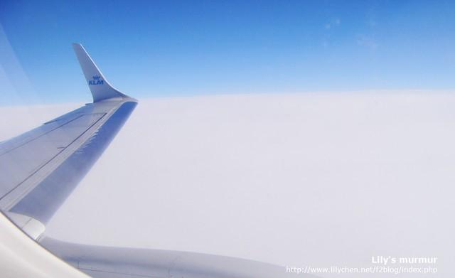 KLM Flight on the sky!