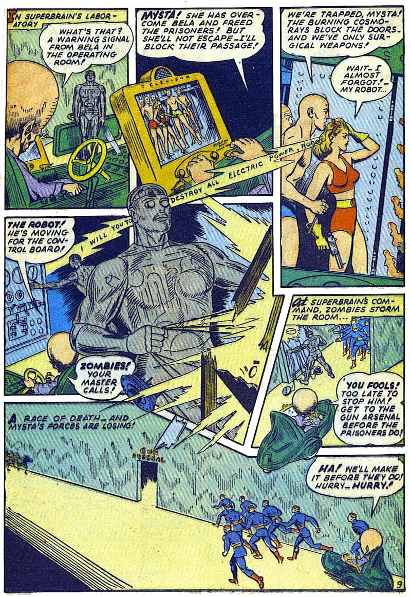 Planet Comics 36 - Mysta (May 1945) 09