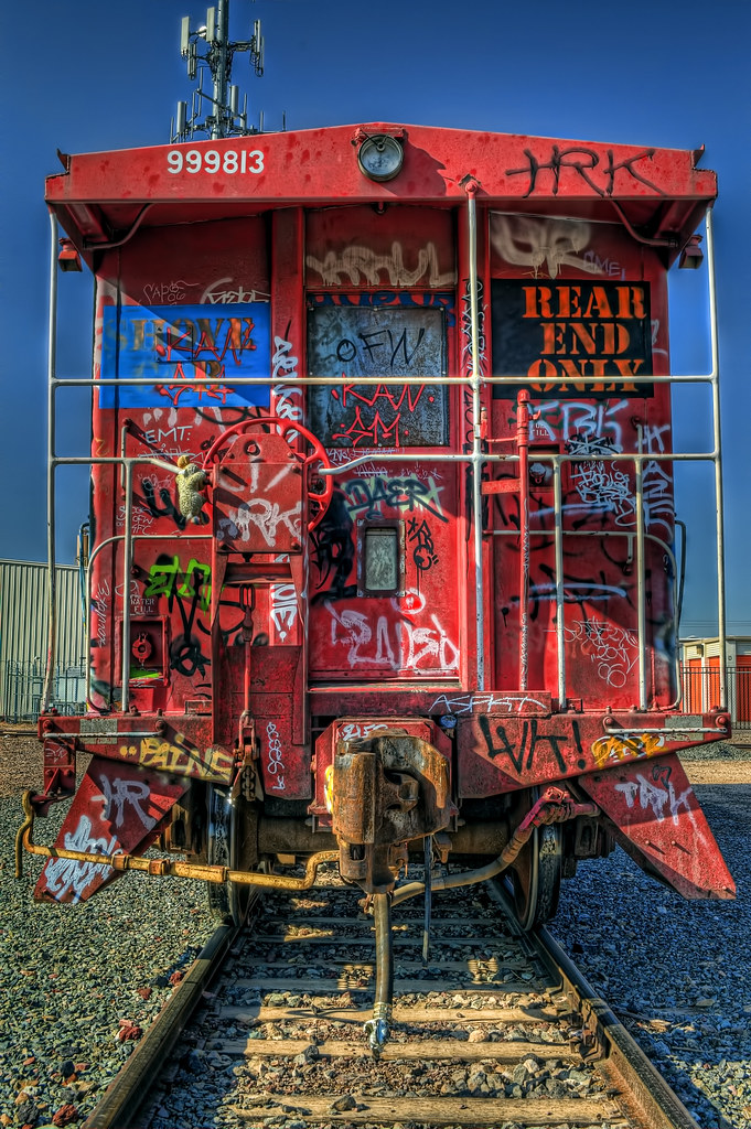 Caboose - Rear End Only