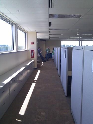 New temp office