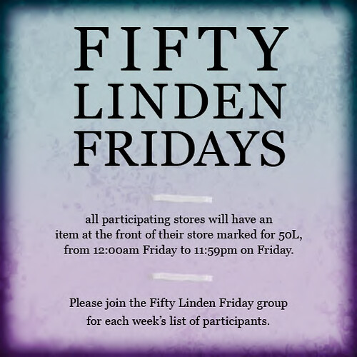 Fifty Linden Fridays!