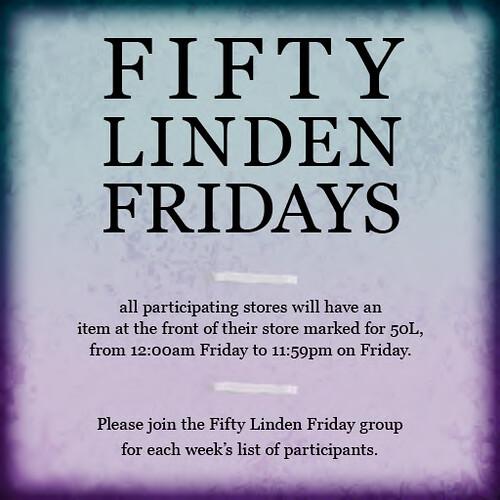 Fifty Linden Fridays!