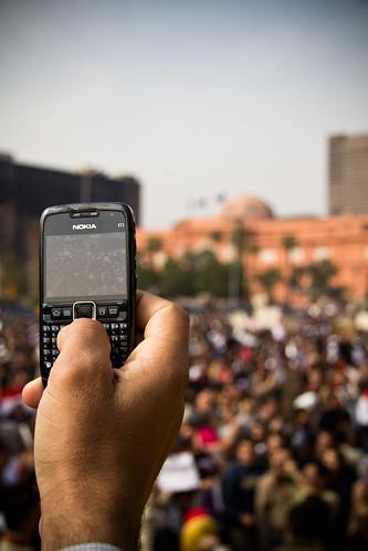 Anti Mubarak demonstration at Tahiri Square, Feb 1, 2011. Photo Credit: darkroom productions, Creative Commons, Flickr