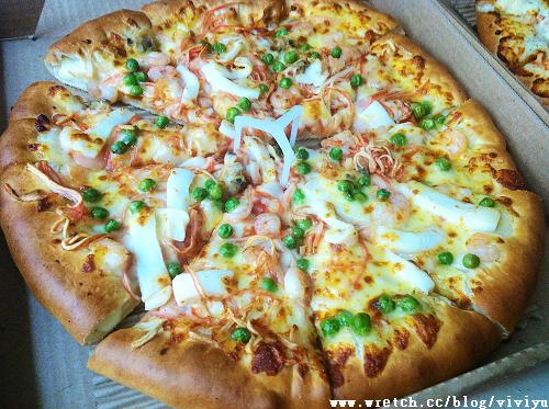 [美食.台灣]必勝客pizza hut~哈燒新年餐 @VIVIYU小世界