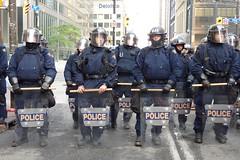 G20 Toronto - Police Barricades (June 26)