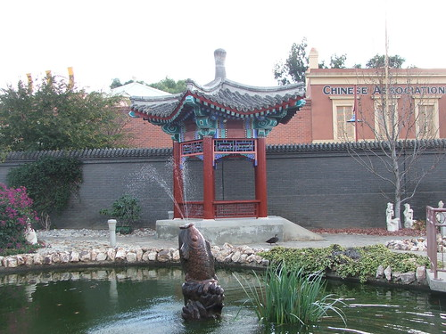 Picture from Bendigo's Golden Dragon Museum