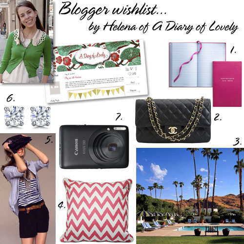 A Diary of Lovely's wishlist