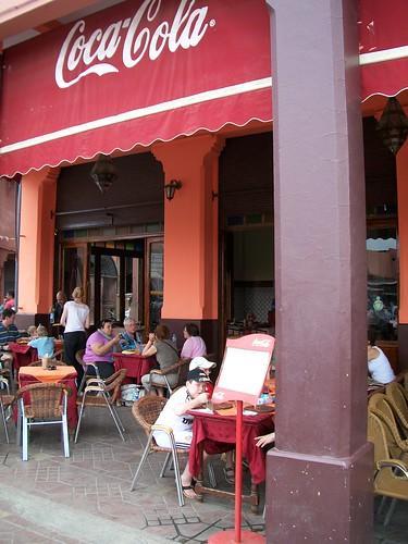Cafe de France, Marrakech