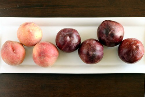 pluots and peaches