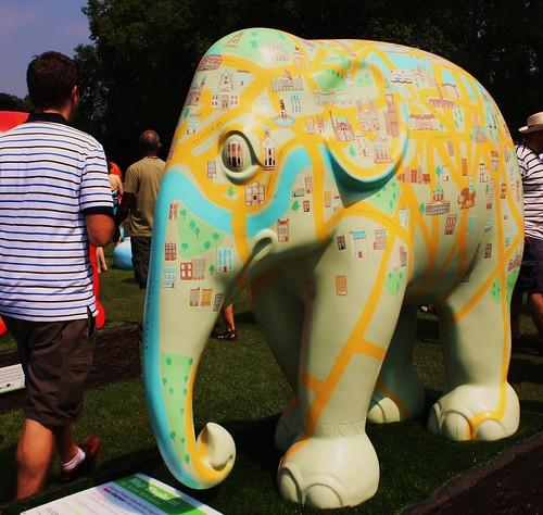 Map elephant