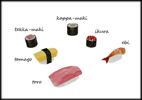 Robocat's sushi