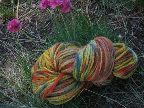 Handspun 4-Ply Crayola Space-Dyed