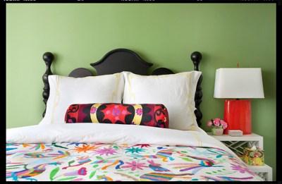 Betsy Burnham bed detail