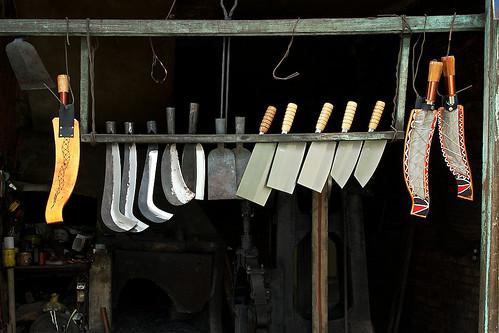 Shiding, Taiwan Blacksmith Shop