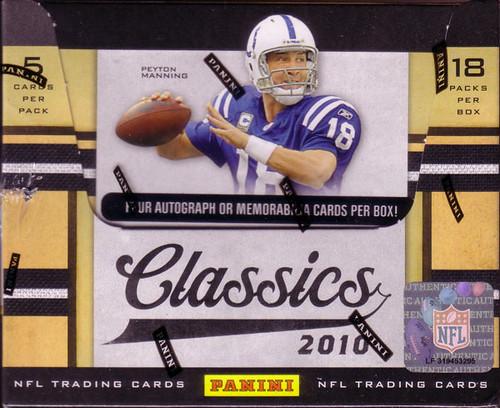 2010 Panini Classics box