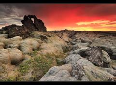 Lava Arch - Reykjanes, Iceland by orvaratli