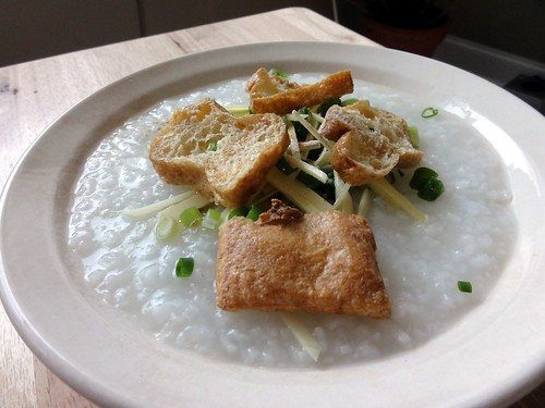 Monkfish Rice Porridge (Congee)