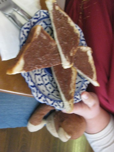 nutella toast