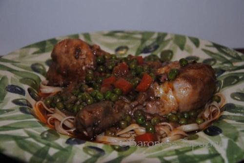 Chicken with Pasta