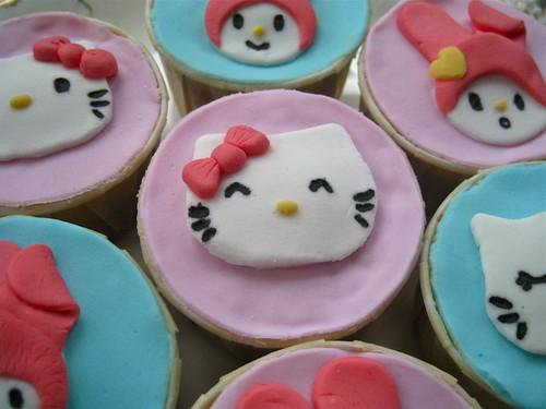 Sanrio cupcakes