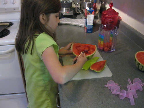 Sym w/Watermelon Popsicle