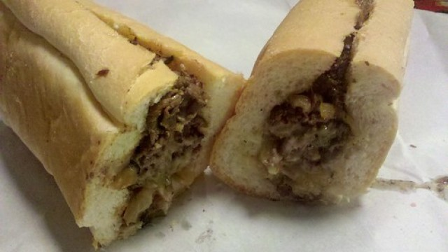 woody's cheesesteaks - the cheesesteak by foodiebuddha.
