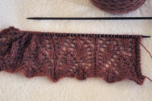 knitspot Campanula scarf.
