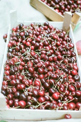 Cherries at Borough Market