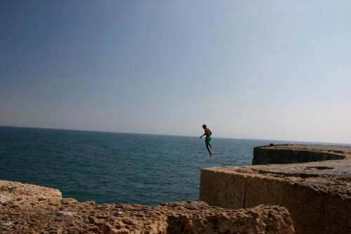 Cliff Jumping 1
