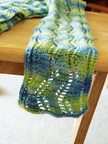 lace ribbon scarf