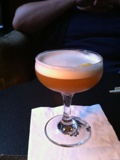 Earl Grey Mar-tea-ni at Pegu Club