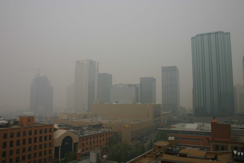 Smoke in Edmonton