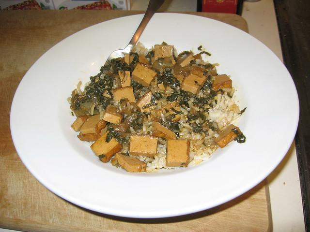 Molokhiya rice